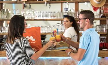 Restaurant, bar og snackbar