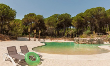 Pool Camping Donarrayan Park in Andalusien