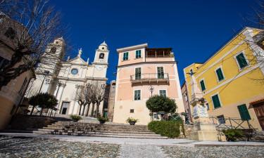 Borgio Verezzi paa Den Italienske Riviera