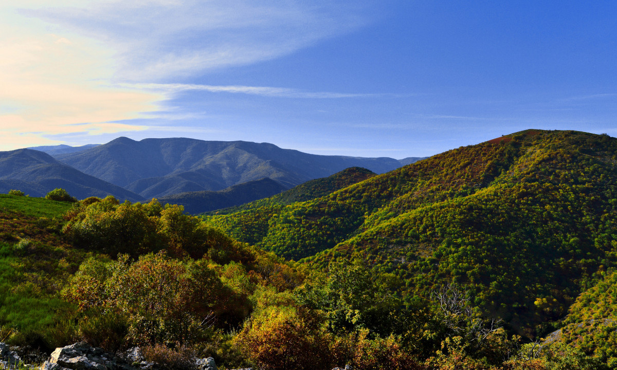 De smukke Cavennes bjerge