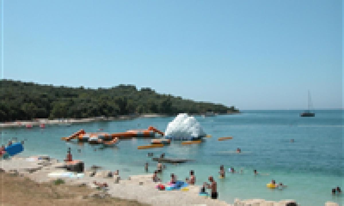 stranden ved Camping Brioni