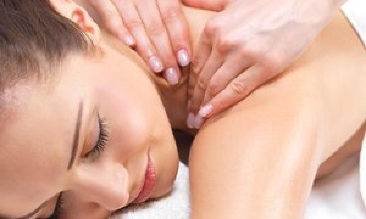 Afslapning med massage