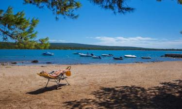 Strand Camping Lopari auf Dalmatien