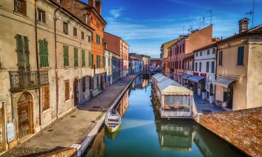 Comacchio - Kaldt det lille Venedig af lokale