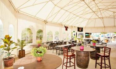 Restaurant Camping Le Soleil de la Mediterranee in Languedoc