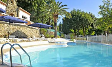 Pool Camping Green Park an der Côte d'Azur