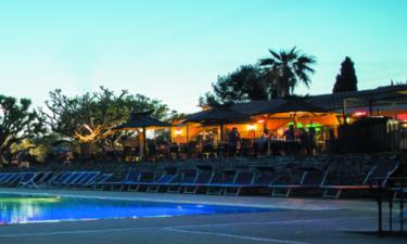 Restaurants Camping Mas de Pierredon an der Côte d'Azur