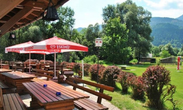 Restaurant Camping Fliegercamp Greifenburg in Kärnten