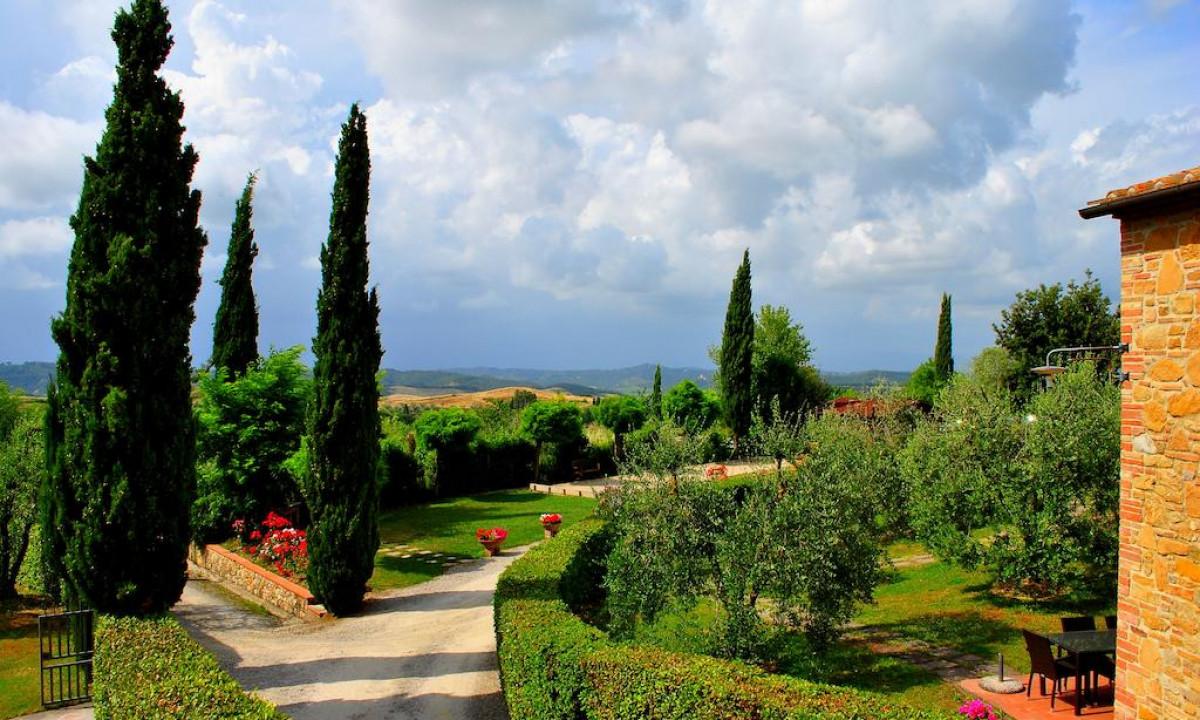 Naturrige omgivelser ved Borgo Collelungo