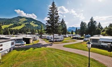Gode faciliteter på campingferien