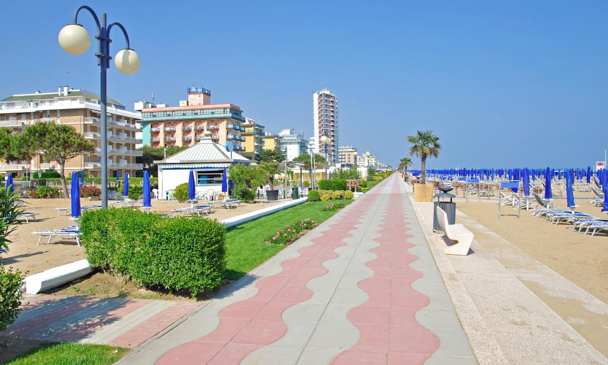 Lido di Jesolo - Strandpromenade