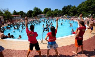 Unterhaltung Camping Bijela Uvala in Istrien