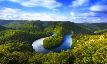 De to naturparker i Auvergne
