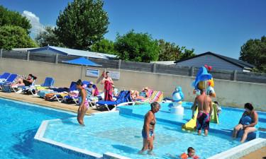 Fantastisk poolområde