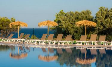 Pool Camping Ametllaan der Costa Dorada