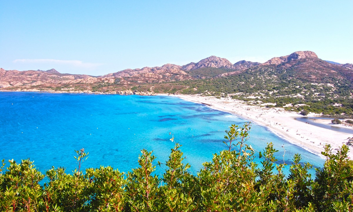 Kysten paa Korsika, Frankrig