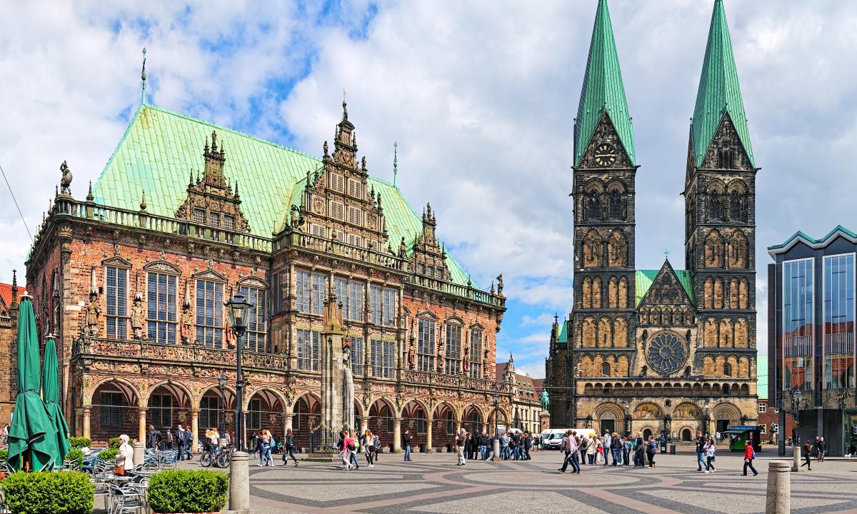 Niedersachsen - Storbyen Bremen