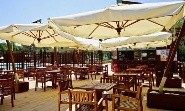 Restaurant Camping Campo Dei Fiori in der Toskana