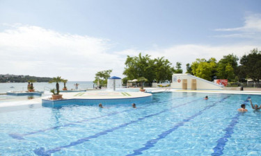 Pool Camping Lanterna in Istrien
