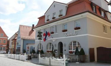 Overnatning på Hotel Gasthof Zum Storch