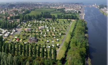 Campingplads ved vandet