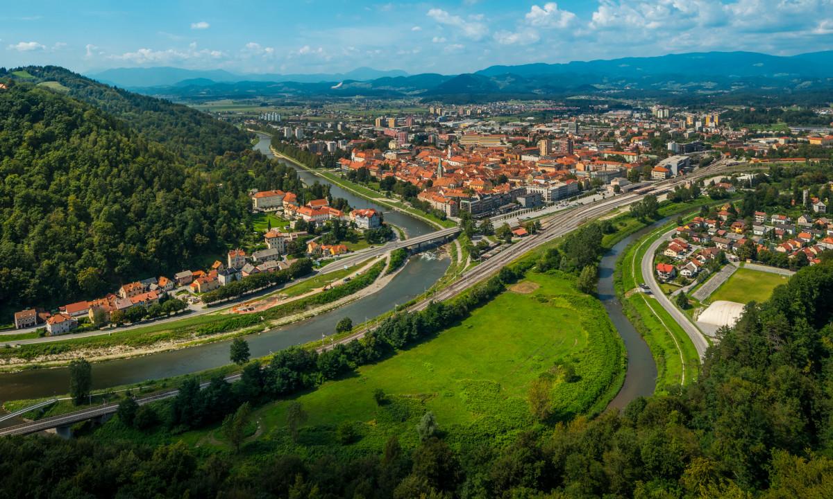 Celje - Gammel by i det sydøstlige Slovenien