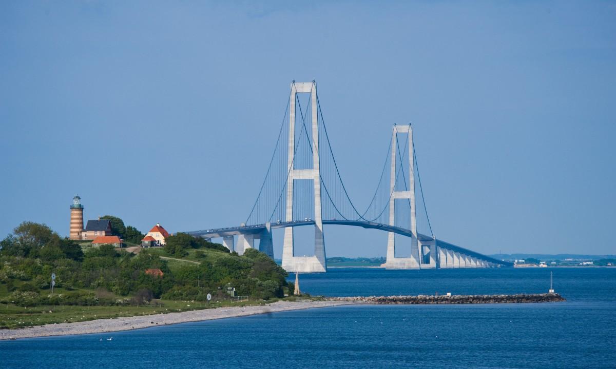 Storebæltsbroen - Find badeland i hele Danmark