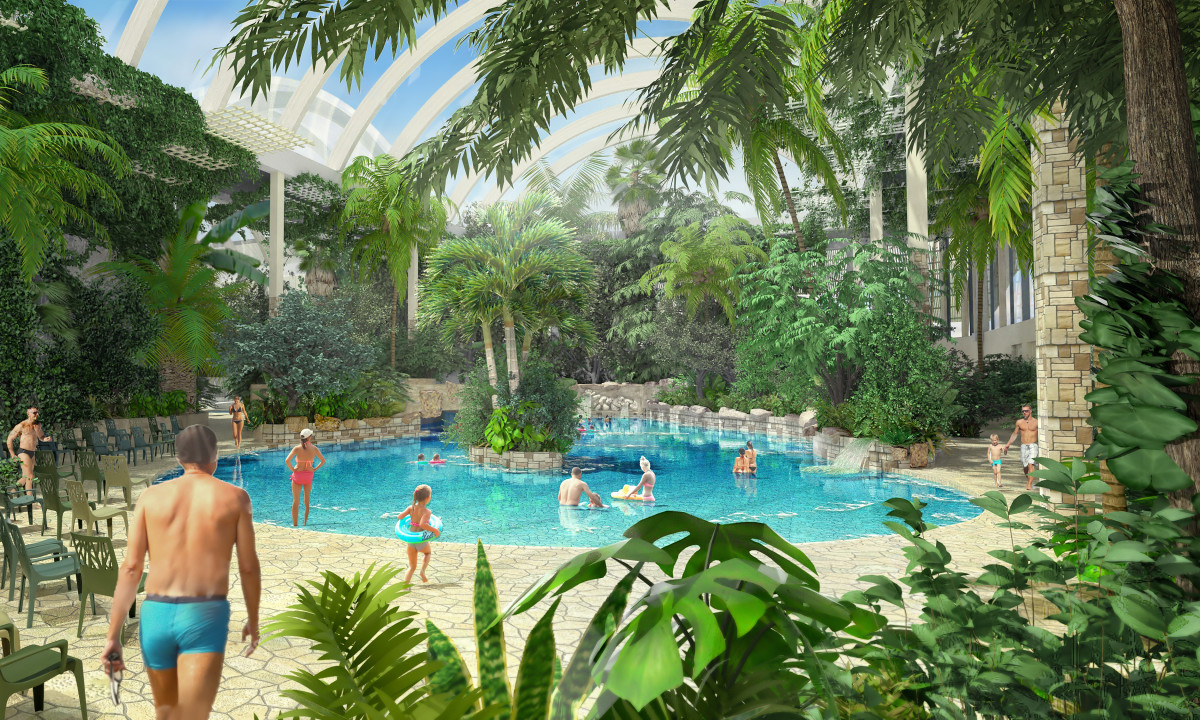 Badelandet indendørs - et sandt paradis