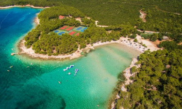 Camping Pine Beach Pokastan auf Dalmatien