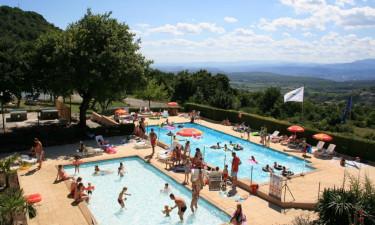 Det skønne poolområde