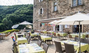 Restaurant Camping Le Gibanel in der Dordogne