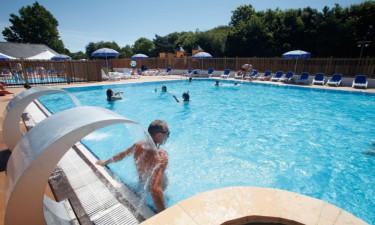 Pool Camping Kerarno in der Bretagne