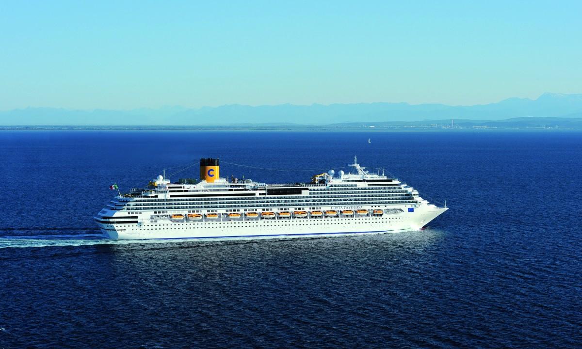 Costa Favolosa - Krydstogtskibet på nordisk farvand