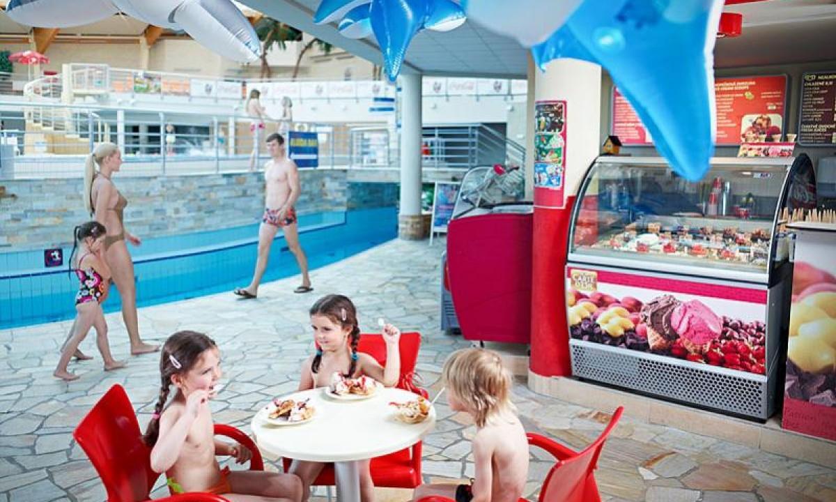 Aquapalace - Café i badelandet