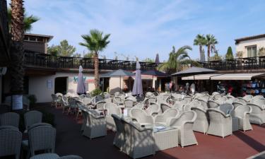 Restaurant Camping Esterel an der Côte d'Azur