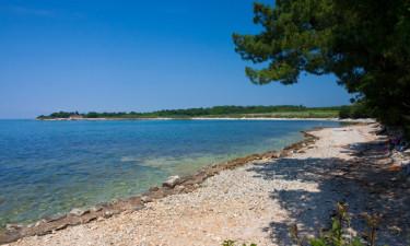 Stranden ved Camping Kastanija
