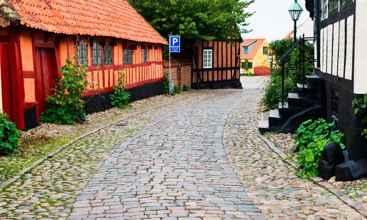Ebeltoft bindingsvaerkshuse - Djursland