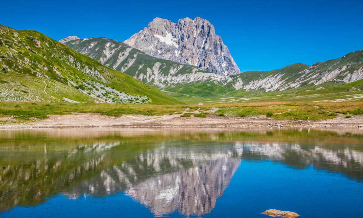 Landskabet i Abruzzo