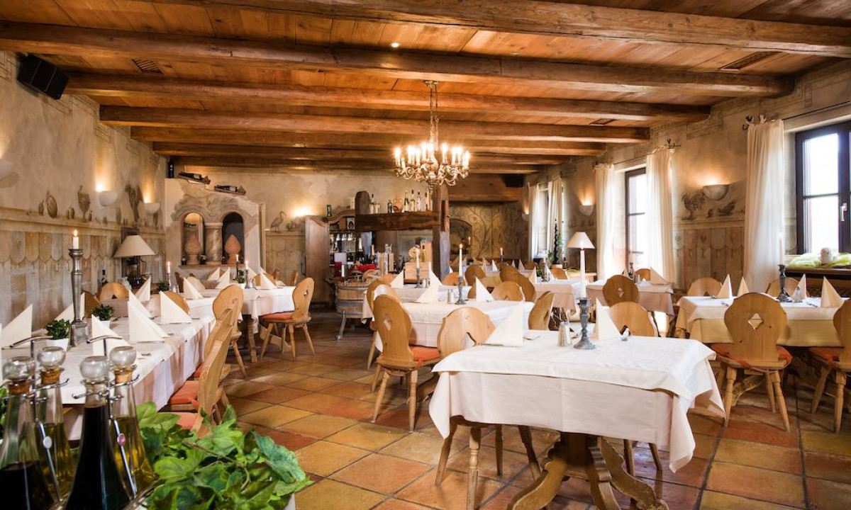 Restaurant paa Mondi-Holiday Alpenblickhotel Oberstaufen