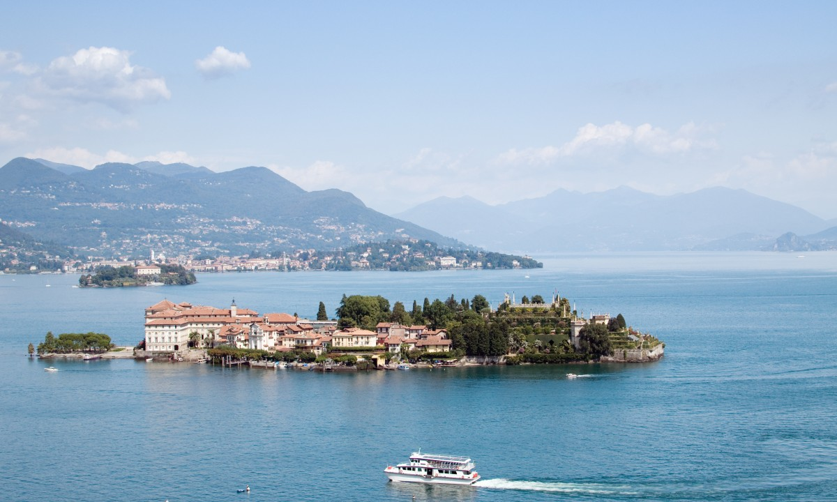 Isola Bella ved Maggioresoeen, Italien