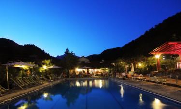 Pool Camping delle Rose an der Italienischen Riviera