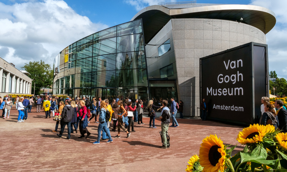 Van Gogh museum i Nordholland