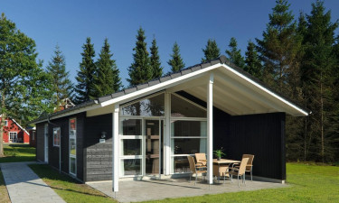 Lalandia Billund - Hyggeligt feriehus med terrasse
