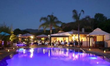 Restaurants Camping Le Colomba auf Korsika