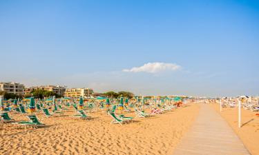 Camping og strandferie i Italien