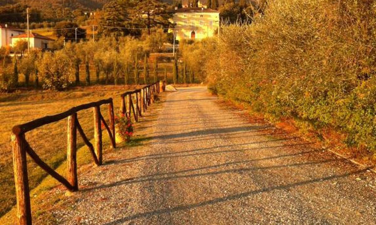 La Torricella vejen til ferielejlighederne