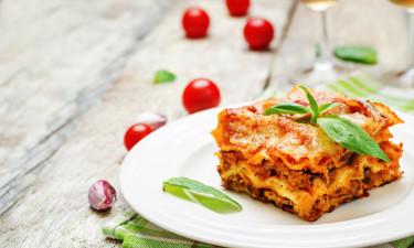 Restaurant - Klassisk, italiensk lasagne