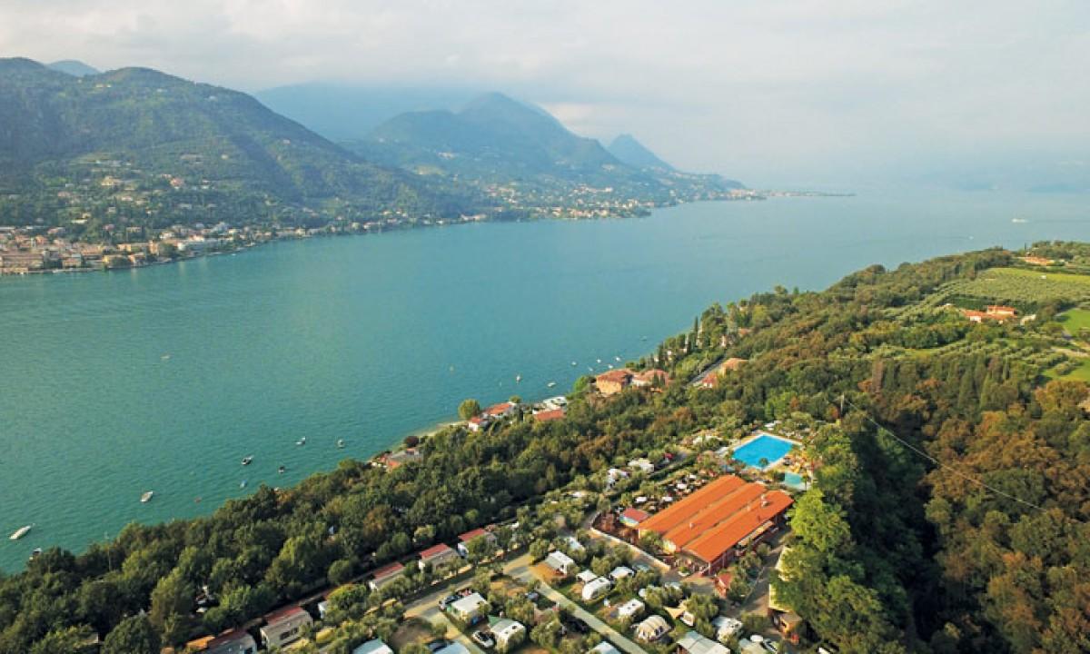 Gardasøen - Udsigt over landskabet