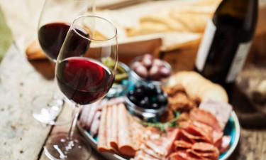 Restaurant, vinbar, isbod, café og snackbar