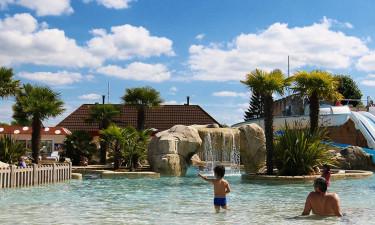 Rig mulighed for afslapning ved poolområdet